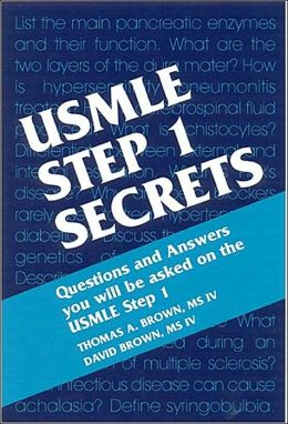 USMLE Step 1 Secrets, 2nd edition