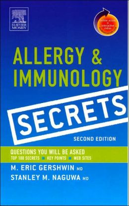 Allergy and Immunology Secrets: With STUDENT CONSULT Online Access
