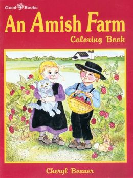 Amish Farm Coloring Book