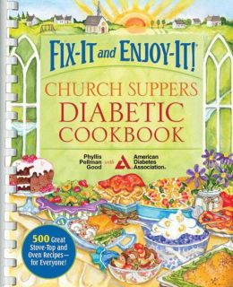 Fix-It and Enjoy-It Church Supper Diabetic Cookbook Comb