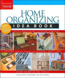 Home Organizing Idea Book