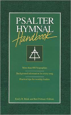 Psalter Hymnal Handbook