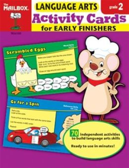 Activity Cards for Early Finishers: Language Arts