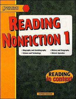 Reading Nonfiction 1- Reading in Context