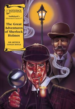 The Great Adventures of Sherlock Holmes-Illustrated Classics-Book