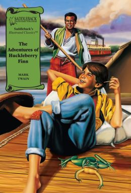 The Adventures of Huckleberry Finn-Illustrated Classics-Book