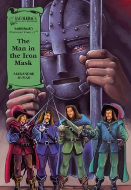 The Man in the Iron Mask-Illustrated Classics-Book