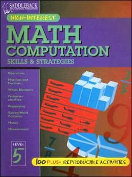 Math Computation Skills and Strategies: Level 5