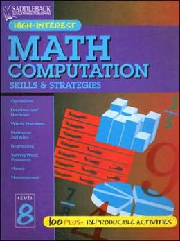 Math Computation Skills and Strategies: Level 8