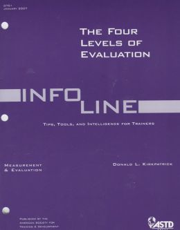 The Four Levels of Evaluation: Measurement and Evaluation