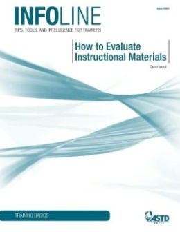 How to Evaluate Instructional Materials