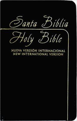 NVI / NIV Spanish/English Bible - Black Leatherlike