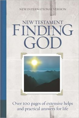 NIV Finding God New Testament - 2010 Edition