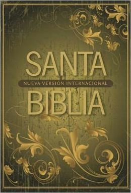 NVI Spanish Compact Bible - Brown Leaf