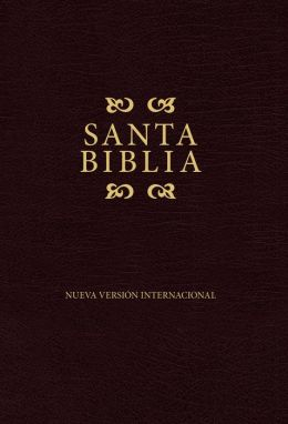 NVI Spanish Pew Bible - Burgundy