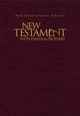 NIV Pocket New Testament with Psalms & Proverbs - Burgundy