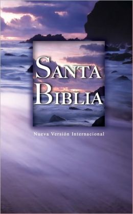 NVI Spanish Hardback Bible - Beach Scene