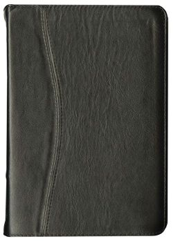 NVI Spanish Slimline Bible - Black Genuine Leather