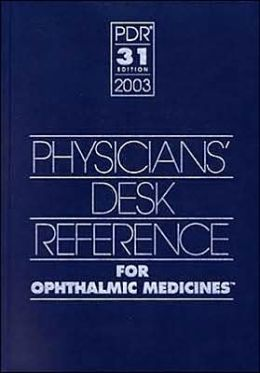 Ophthalmic Medicines 2003