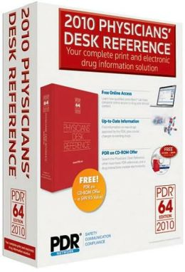 2010 Physicians' Desk Reference
