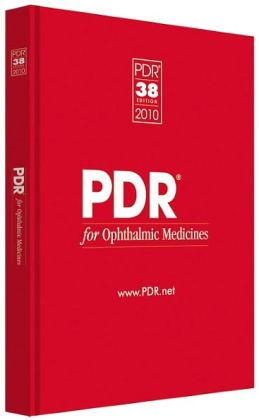 PDR for Ophthalmic Medicines