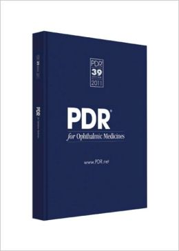 PDR for Ophthalmic Medicines 2011