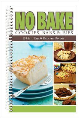 No-Bake Cookies, Bars and Pies