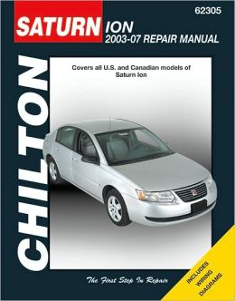 Saturn Ion: 2003 through 2007: 2003 through 2007
