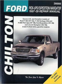 Ford Pick-ups, Expedition & Navigator: 1997 thru 2009