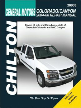 General Motors Colorado and Canyon--2004 thru 2008