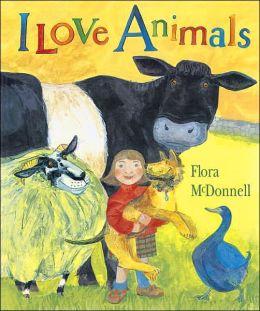 I Love Animals (Candlewick Press Big Book Series)