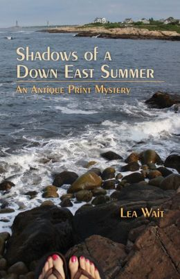 Shadows of a Down East Summer (Antique Print Mystery Series #5)
