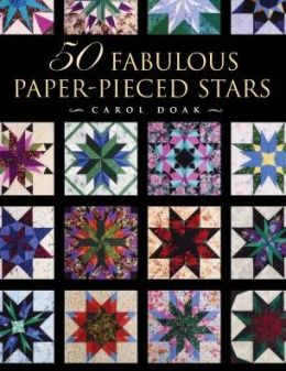 50 Fabulous Paper-Pieced Stars with Cdrom