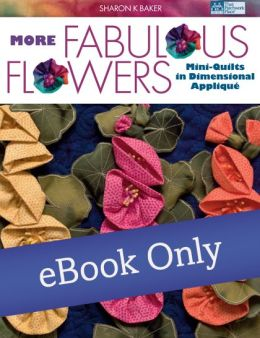 More Fabulous Flowers: Mini-Quilts in Dimensional Applique