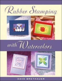 Rubber Stamping with Watercolor