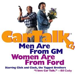 Car Talk: Men Are from GM, Women Are from Ford
