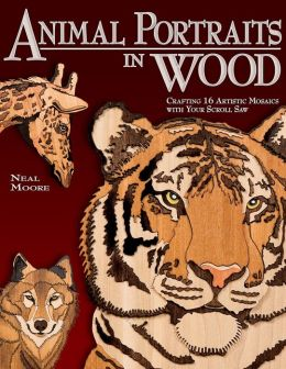Animal Portraits in Wood: Crafting Artistic Mosaics with Your Scroll Saw