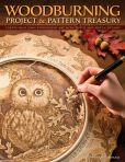 Book Cover Image. Title: Woodburning Project and Pattern Treasury:  Create Your Own Pyrography Art with 70 Mix and Match Designs, Author: Deborah Pompano