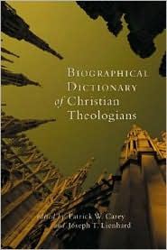 A Biographical Dictionary of Christian Theologians