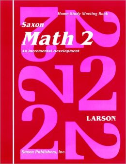Saxon Math 2 Homeschool: Student's Meeting Book 1st Edition
