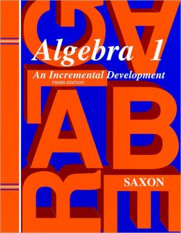 Saxon Algebra 1, 3rd Edition Tests only