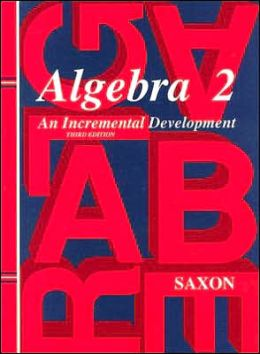 Algebra 2 : Incremental Development