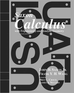 Saxon Calculus: Solution Manual Second Edition 2002