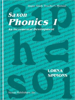 Saxon Phonics 1: Homeschool Teacher's Edition First Edition 1998