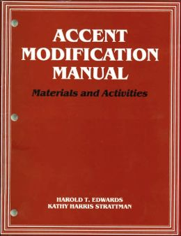 Accent Modification Manual: Materials and Activities