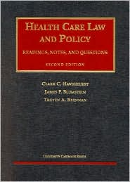 Health Care Law and Policy
