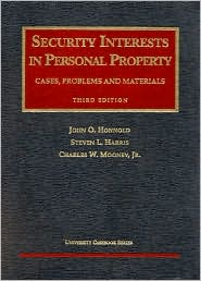 Security Interest in Personal Property