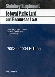 Federal Public Land and Resource Statutory Supplement
