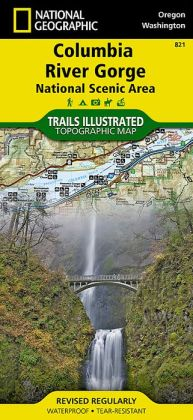 Columbia River Gorge: National Scenic Area Oregon/Washington Map