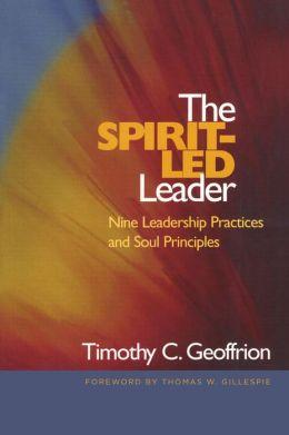 The Spirit-Led Leader: Nine Leadership Practices and Soul Principles